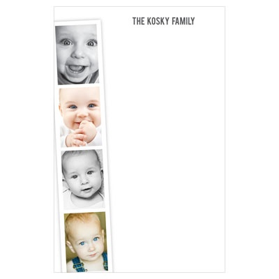 Photo Booth Strip Custom Notepads