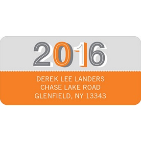 Simple Senior Moments -- Graduation Address Labels