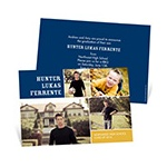 Memory Blocks -- Custom Photo Graduation Invitations