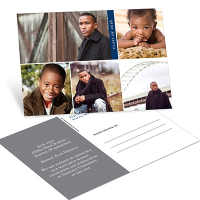 Fresh Future Postcard Graduation Announcements