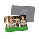 Casual Stringing Success -- Photo Graduation Announcements