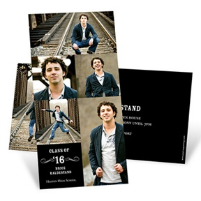 Looking to the Future Vertical -- Graduation Announcements
