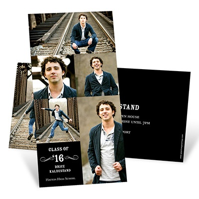 Looking to the Future Vertical Graduation Announcements