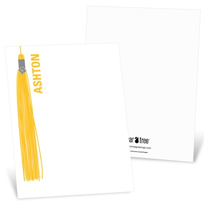 Hanging Tassel -- Graduation Stationery