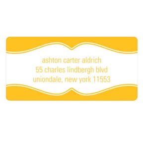 Charming Frame -- Graduation Address Labels