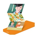Alphabet Bash -- Preschool Graduation Announcements