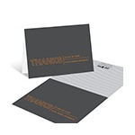 Elegant Angles -- Graduation Thank You Card