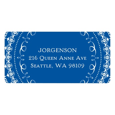 Traditional Emblem -- Graduation Return Address Labels