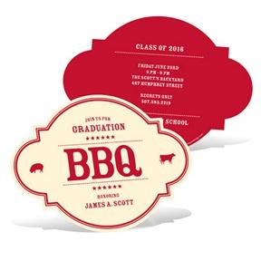 BBQ Gathering -- Graduation Announcements
