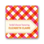 Checkered Bliss -- Bridal Shower Decorations