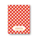 Checkered Bliss -- Personalized Bridal Shower Thank You Notes
