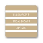 Classic Stripes -- Wedding Favor Stickers