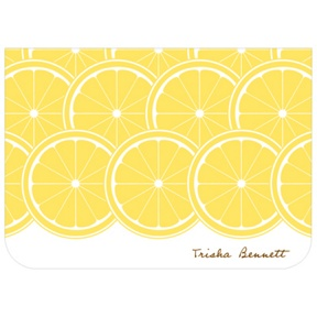 Sweet Lemon Slices -- Bridal Shower Thank You Cards