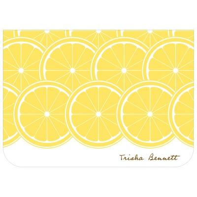 Sweet Lemon Slices Bridal Shower Thank You Cards