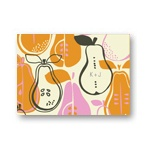 Pear Pattern -- Personalized Bridal Shower Thank You Cards
