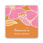 Tropical Twist -- Wedding Favor Stickers