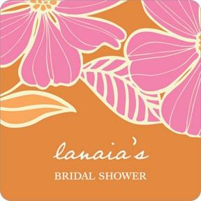 Tropical Twist -- Bridal Shower Decorations
