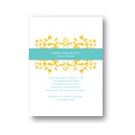 Chic Vines --  Bridal Shower Invitations