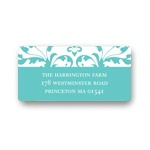 Chic Vines -- Bridal Shower Address Labels