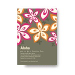 Hibiscus Fun -- Pink Luau Party Invitations