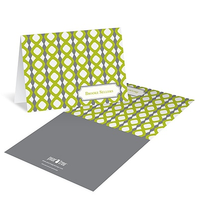 Geometric Print -- Modern Stationery