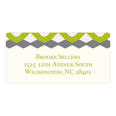 Modern Marks -- Personalized Address Labels