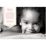 Photo Reflection Girl Communion Invitations