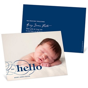 Classic Introduction -- Birth Announcements