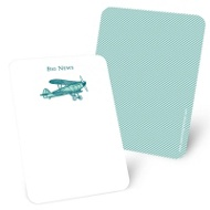 Airplane Delivery Mini Note Cards