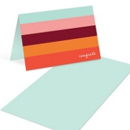 Changing Stripes Mini Note Cards