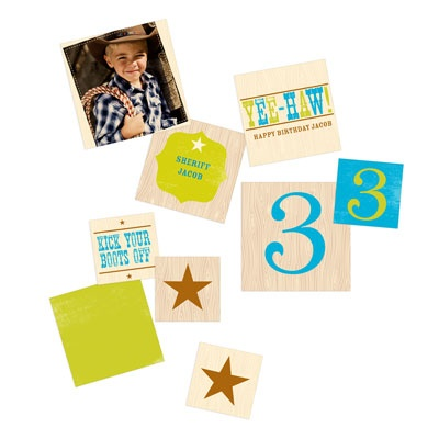Yee Haw Cowboy Kids Party Decorations