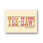 Wood Grain Gratitude -- Kids Thank You Cards