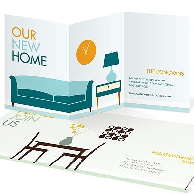 Peek Inside Housewarming Invitations