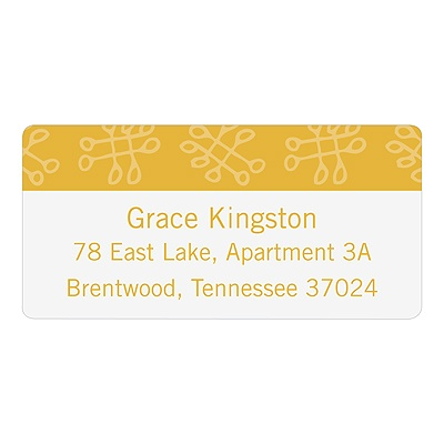 Playful Pattern -- Cute Address Labels
