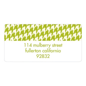 Chic Border -- Creative Return Address Labels