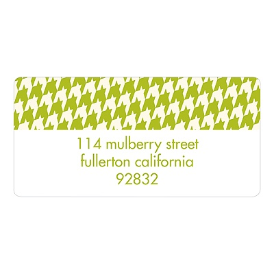 Chic Border Creative Return Address Labels
