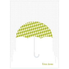 Showers Ahead -- Baby Shower Thank You Cards