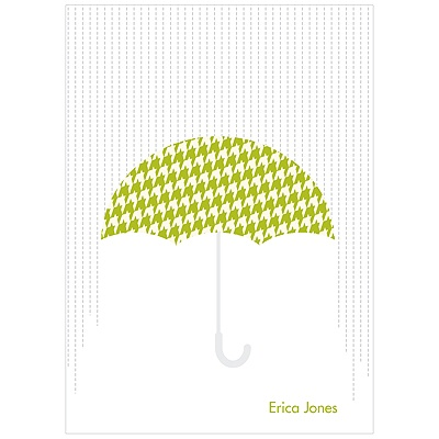 Showers Ahead Baby Shower Thank You Cards