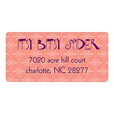 Nursery Rhymes Baby Address Labels