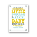 Personalized Poster -- Vintage Baby Shower Invitations