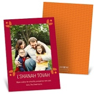 Special Symbolism Rosh Hashanah Photo Cards