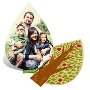 Unique Cut -- Rosh Hashanah Greeting Cards