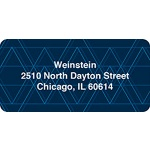 Geometric Pattern -- Contemporary Address Labels