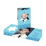 I-Cut Star of David -- Creative Bar Mitzvah Invitations