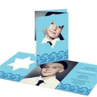 I-Cut Star of David Creative Bar Mitzvah Invitations