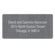 Grosgrain Sketch Contemporary Address Labels
