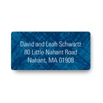 Imaginative Imprint -- Blue Address Labels