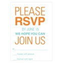 Bar & Bat Mitzvah RSVP cards