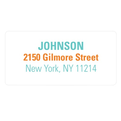 Simple Messaging -- Modern Address Labels