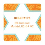 Big Star Sighting -- Modern Return Address Labels